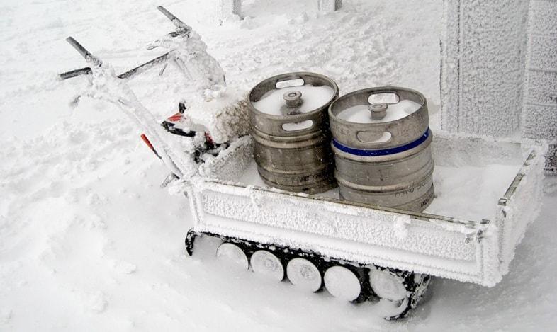 Холодное пиво
