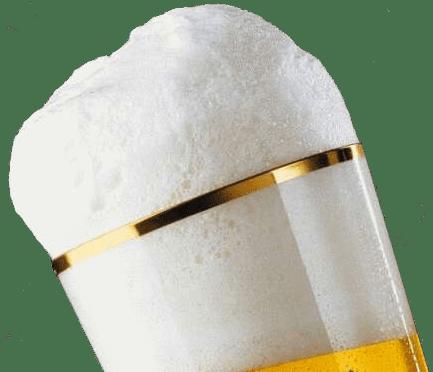 Пена пиво