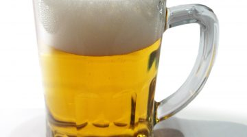 Кружка светлого пива