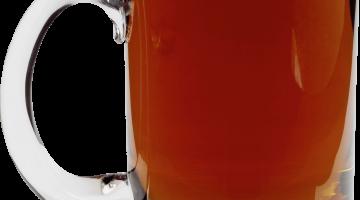 Кружка темного пива
