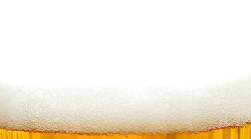 Пена с пивом