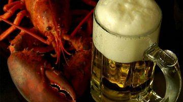Пивная кружка и рак