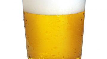 Стакан пива широкий
