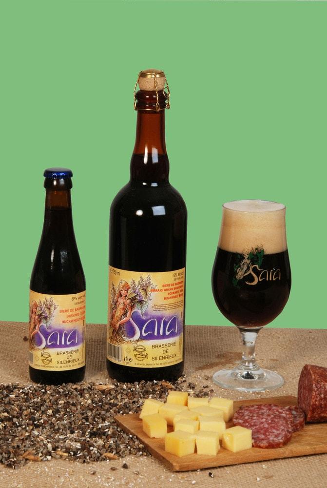 Sara-гречневое пиво