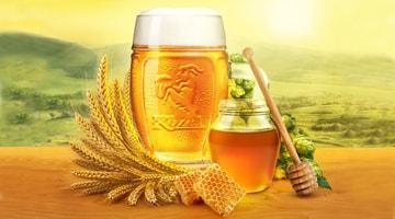 Пиво с мёдом