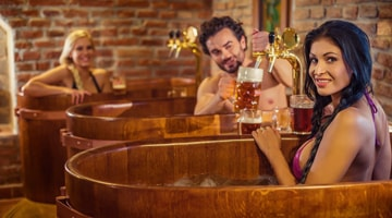 Процедуры с пивом