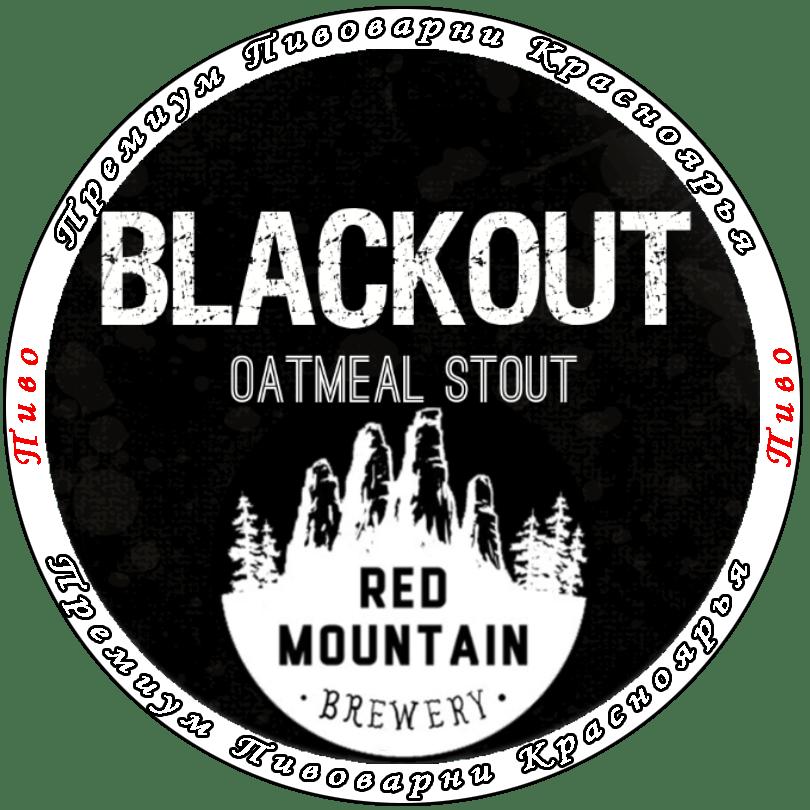 BLACKOUT Oatmeal Stout