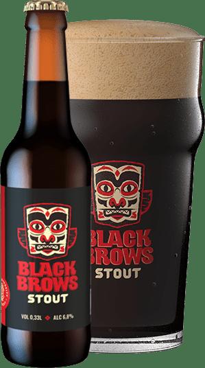 BLACK BROWS  STOUT