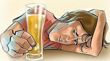 Вред от пива