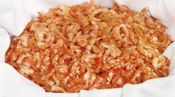 Креветки солено-сушеные