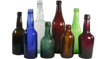 Цвет бутылочного стекла