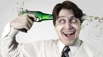 Как пиво влияет на мозг