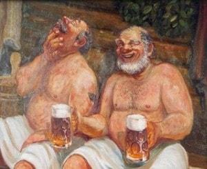 Пиво и баня