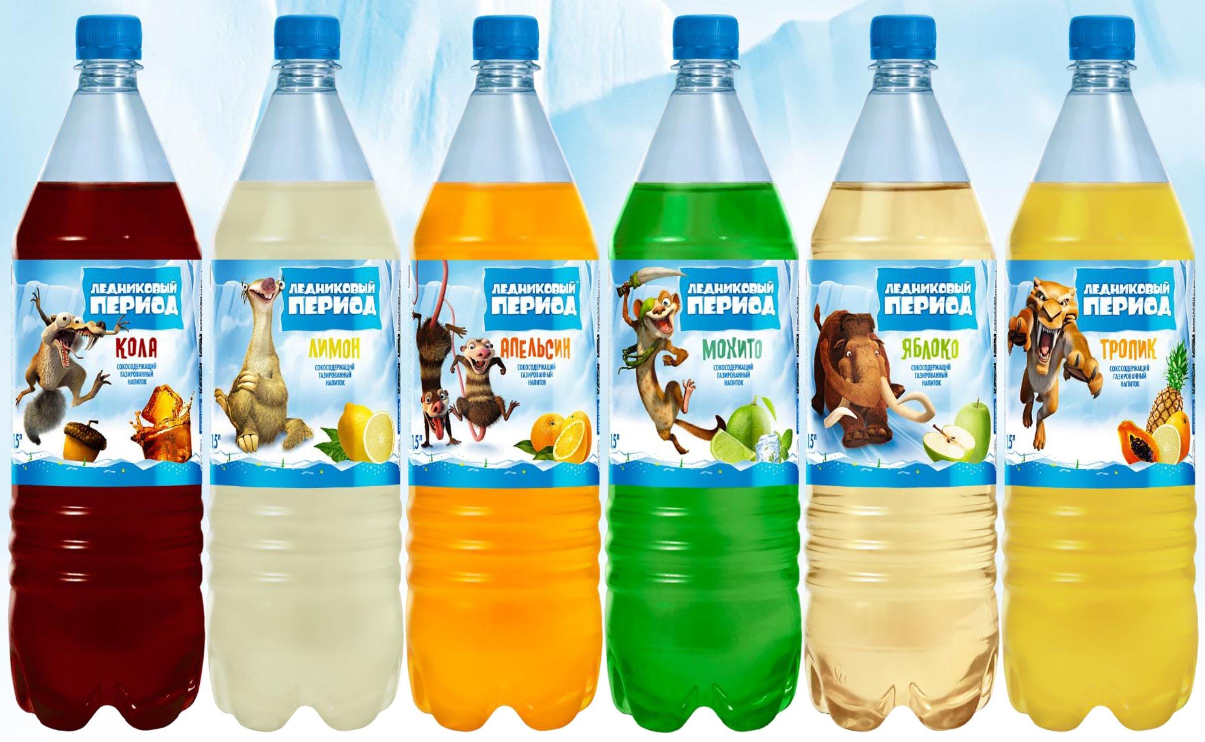 Газированные напитки Ледниковый Период