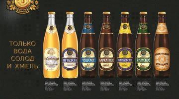 Пивоварня Лобанова ассортимент стекло