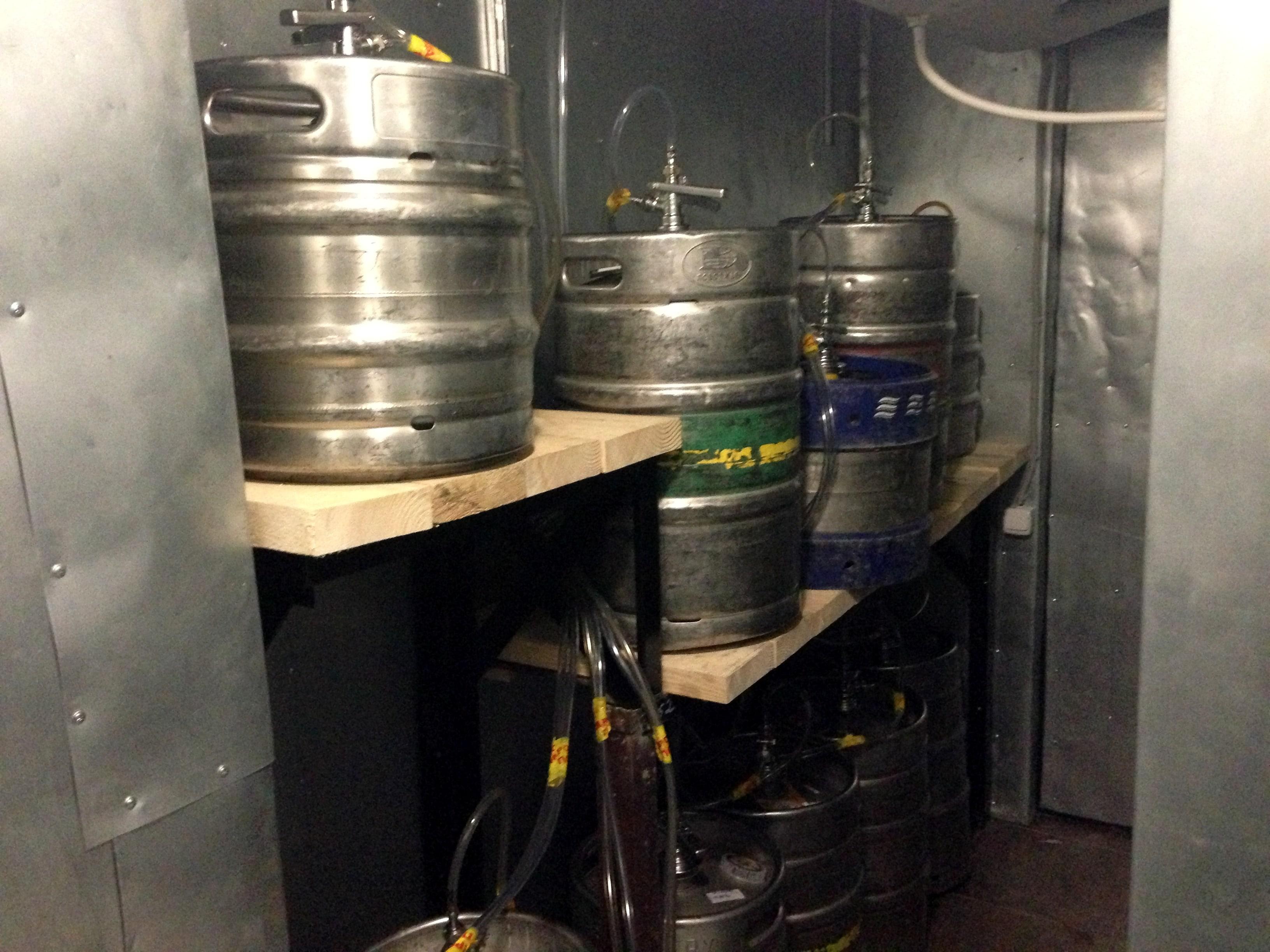 Холодильная камера для пива