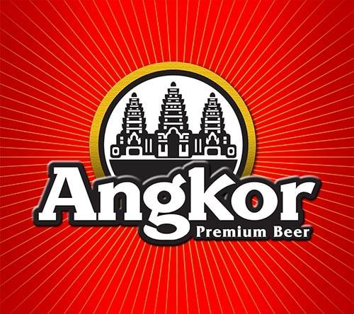 Стилизованный логотип пива Angkor