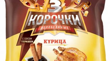 3 корочки курица+терияки