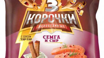 3 корочки семга сыр+тар-тар