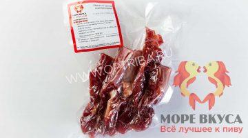 Карпаччо из свинины 100 грамм березовка