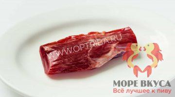 Карпаччо сыровяленное из свинины в индивидуальной упаковке