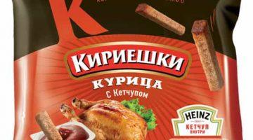 Кириешки курица+кетчуп