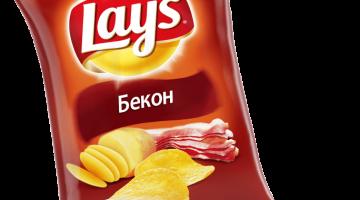 Lays бекон