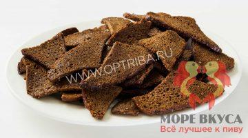 Сухари бородинские с чесноком чипсы Восточный Караван