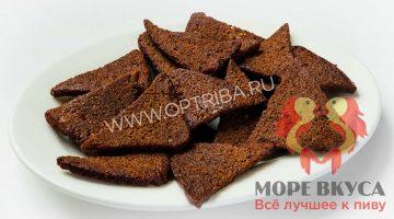 Сухари бородинские с чесноком чипсы коронные