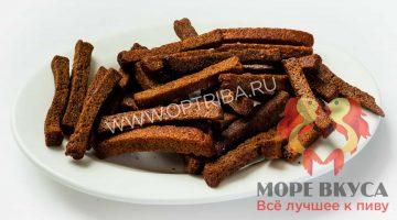 Сухари бородинские с чесноком соломка коронные