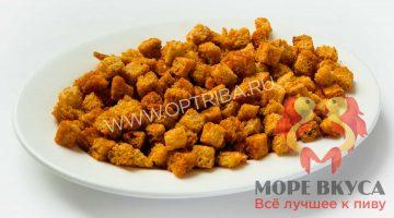 Сухарики пшеничные с чесночком коронные