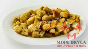Сухарики уральские сыр+чеснок