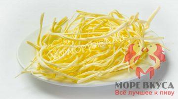 Сыр спагетти не копченный