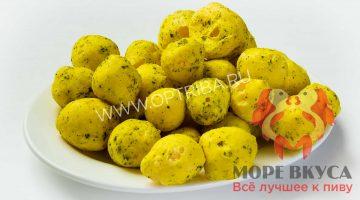 Сырные шарики сметана-зелень