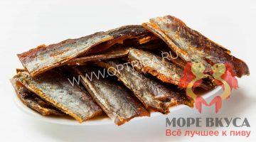 Янтарная рыбка с перцем