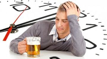 Сколько держится 2 литра пива в организме человека