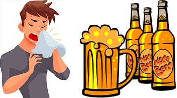 Можно ли пить пиво при простуде