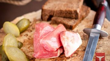 Карпаччо из свинины, фас. 0,100 гр, 0,5 кг
