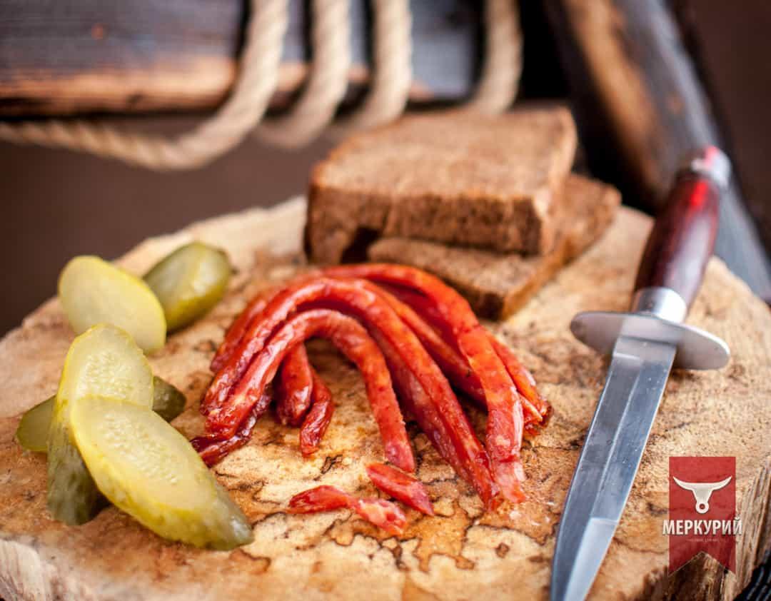 Колбаски БИ-ФИ из мяса птицы, фас. 0,100 гр, 0,5 кг, 1 кг