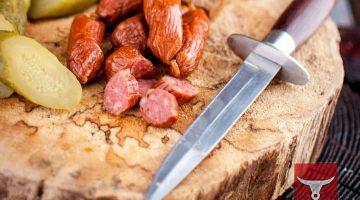 Колбаски Финские сырокопчены, фас. 0,100гр, 0,5 кг