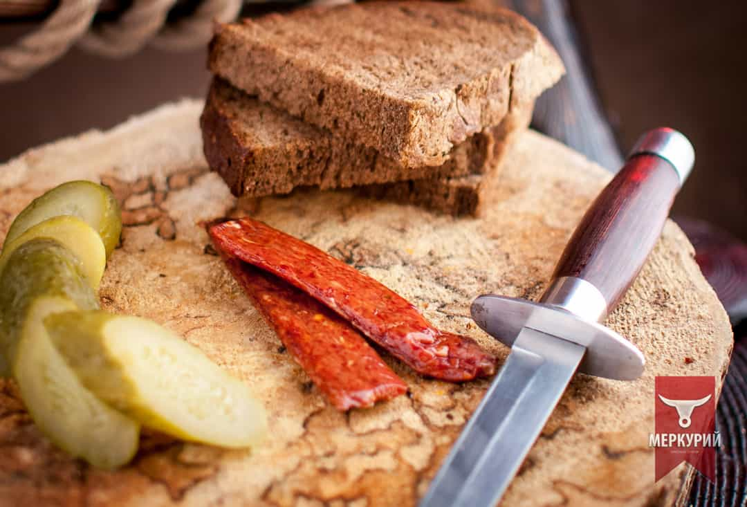 Мясной батончик Стейк из говядины, фас. 0,100 гр, 0,5 кг