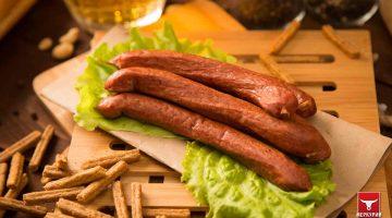 Колбаски Охотничьи, фас. 0,5 кг
