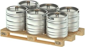 Сколько литров пива в кеге