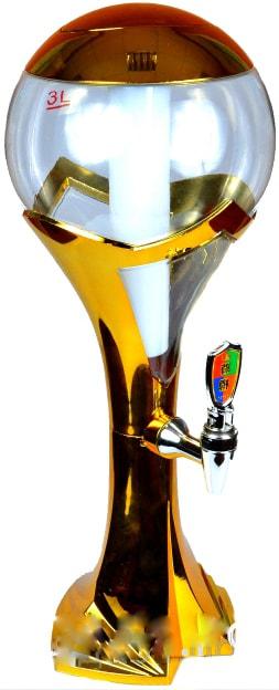 Кубок 3 литра золото