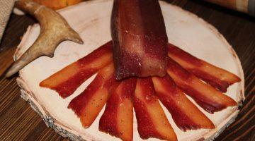 Куропатка на лосе мясная сыровяленая нарезка ву 0,040 гр