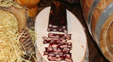 Медведь мясная сыровяленая нарезка ву 0,040 гр