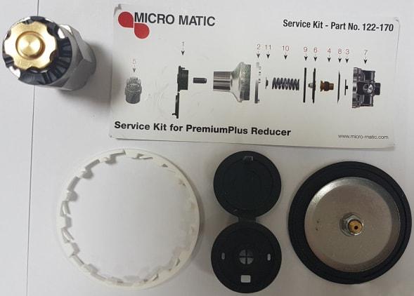 Ремкомплект для редуктора MicroMatic NEW