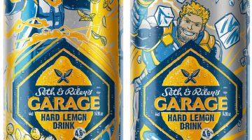 Банки пиво Гараж Сет и Райли - супергерои