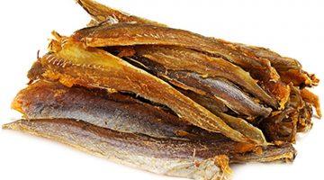 Янтарная рыбка с перцем путассу