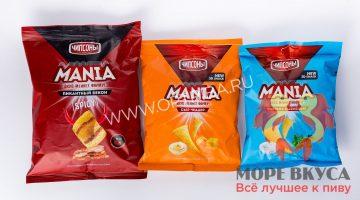Чипсы Mania 55 и 60 грамм